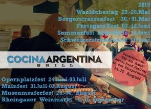 Argentinisch-Essen-Frankfurt